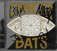 "Cancer Bats CD ""Searching For Zero"" - HAND SIGNED by the band RARE HARDCORE PUNK"