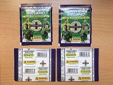 PANINI RARE Northern Ireland Euro 2016 x4 Sealed Packets Bustina