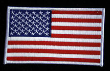XL USA FLAG JACKET PATCH REGULATION 4 3/4 X 2 3/4 US NAVY USS FMF PILOT CREW WOW