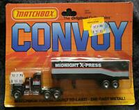 MATCHBOX CY9 CONVOY KENWORTH MIDNIGHT X-PRESS PETERBILT - UNOPENED BLISTER PACK