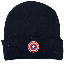NEW OFFICIAL Marvel Captain America Civil War Shield Premium Beanie Hat