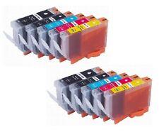 10 Tinte für Canon PIXMA MP540 MP620 MP630 MP640 MP990 wie CLI-521C 521M 521Y