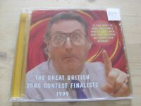 Various: The Great British Song contest finalist 1999  Eurovision CDS    NM