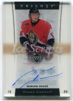 2005-06 Upper Deck Trilogy Ice Scripts HO Marian Hossa Auto