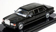 True Scale 1/43 1991 Rolls Royce Silver Spur II Limousine Black 124372 RESIN