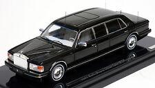 True Scale 1/43 1991 Rolls Royce Silver Spur II Limousine Black 124372 RESIN