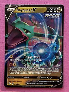 Pokemon - Rayquaza V - Evolving Skies 110/203 - Pack Fresh - Pokemon Card