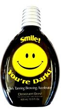 Designer Skin Smile You're Dark Bronzer Indoor Tanning Lotion Smile Your Dark!
