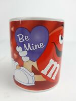 Red M&M BE MINE Valentine's Day Collectible 16 oz. Galerie Coffee Mug