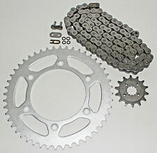 1993-2013 Honda XR650 L O Ring Chain and Sprocket 15/45 110L