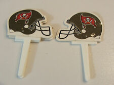 NFL Playoffs TAMPA BAY BUCCANEERS Cupcake Toppers New  Pkg. of 12