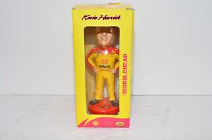 "SIGNED - 8"" Kevin Harvick NASCAR Shell Pennzoil Bobblehead Doll Figure - NEW"