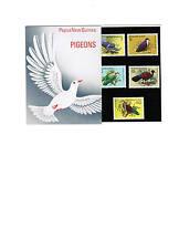PNG  1977  Flora & Fauna - Pigeons Presentation Pack - Mint Never Hinged