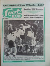 SPORT MAGAZIN KICKER 41A-5.10 1959 * Schweiz-Deutschland 0:4 Holland-Belgien 9:1