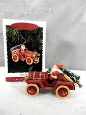 Hallmark Keepsake Ornament, Here Comes Santa Series, Santa's Roadster, 1995