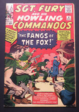 Sgt Fury and His Howling Commandos 6, nice-looking copy, Kirby cover/art, 1964
