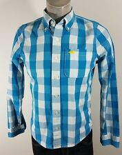 Hollister mens casual check shirt great condition size S