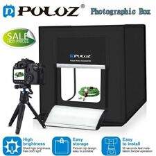 Studio Light Room Portable Photography Box Photo Led Tent Foldable Cube 40cm