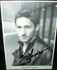 Benjamin Sadler, Autogramm, original signiert!