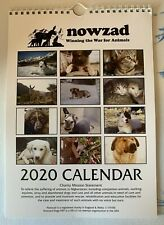OFFICIAL NOWZAD 2020 A4 WALL CALENDAR - 100% NOWZAD CHARITY
