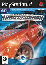 NEED FOR SPEED UNDERGROUND for Playstation 2 PS2 - with box & manual - PAL