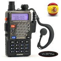 BaoFeng UV-5R Plus V/UHF 136-174/400-520 MHz Radio Transceptor portatil EU Stock