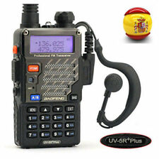 Baofeng UV-5R Plus 2m/70cm Walkie Talkie Portátil