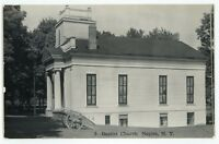 RPPC Baptist Church NAPLES NY Finger Lakes Ontario County Real Photo Postcard