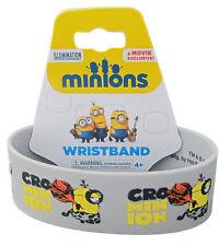 Despicable Me Cro Minion Caveman Stuart Rubber Wristband ~ Officially Licensed