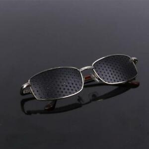 Metal Pinhole Glasses Exercise Eyewear Eyesight Improvement Vision Training