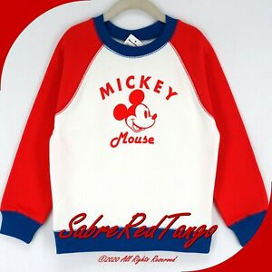 NWT HANNA ANDERSSON DISNEY MICKEY MOUSE FRENCH TERRY SWEATSHIRT 110 5