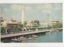 Waterfront Port Said Vintage Postcard 966a
