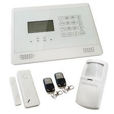 Sentry Pro Touch Screen Wireless Intruder Burglar House Alarm White Solution 1