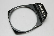 NIKON FM SLR BLACK FRONT PLATE FASCIA (other parts available-please ask)