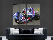 Jorge Lorenzo Moto Gp Moto Deportes Gigante de arte cartel impresión de foto Grande