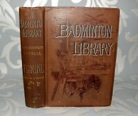 ** The Badminton Library - Fishing, Salmon & Trout, HB, 1893, 6TH Ed, Illust