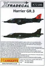 NEW 1:72 Xtradecal X72186 BAe Harrier GR.3