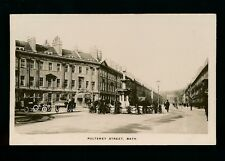 Somerset BATH Pulteney St c1900/10s? RP PPC