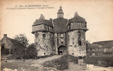 Carte Postale LA GRANDE CHAPELLE Village de la Grande Saucerie L'Ancien Château