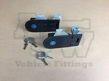 2 X Compression Latch Lock LARGE Horsebox Locker Doors Tack Box Like SOUTHCO C5