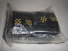 New Collectible Racing/ NASCAR Flag Earrings Black & Gold Checkered Lot of 600