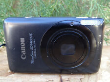 Canon PowerShot Digital ELPH SD1400 IS 14.1MP Digital Camera -Black w/Battery+16
