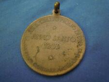 MEDAGLIA ANNO SANTO 1933 COMITATO ANTIBLASFEMO - CRISTO NEI SECOLI -  (S-O-4)