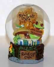 Rainforest Cafe Snow Globe - Your Adventure Begins Here ( Frog , mushroom animal