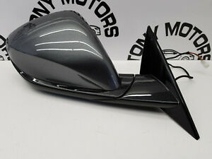 2017 FERRARI GTC4 LUSSO FRONT UK RIGHT O/S COMPLETE WING MIRROR IN GREY GENUINE