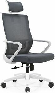 MARTUNIS Ergonomic Office Chair, Modern Mid-Back Desk Chair,Computer Chair UK