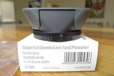 Leica 12589 Lens Hood 35mm ASPH f/1.4, *Looks Never Used* Box Ships today