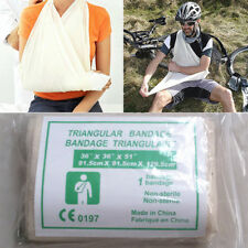 Non Woven TRIANGULAR BANDAGE, Disposable Arm Sling, First Aid, Durable New