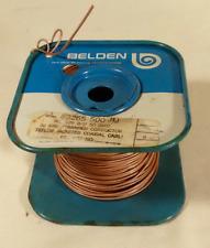 TEFLON JACKET COAX CABLE, BELDEN 83265, RG178 NOS LENGTH 10 FEET