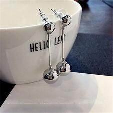 Fashion Women Bling Ball Earrings Long Chain Drop Dangle Earrings Jewelry 1 PAIR
